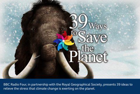 BBC Radio, 39 ways to save the planet image