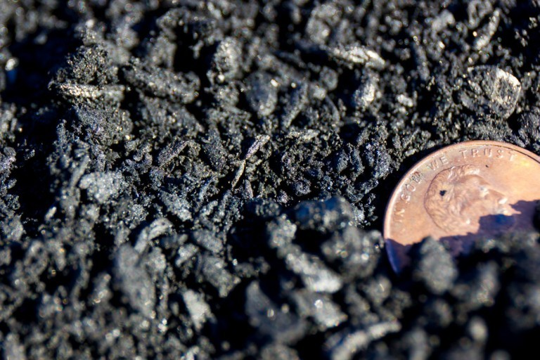 pure softwood forestry residue biochar