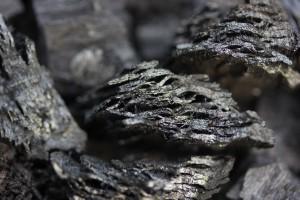Pyrogenic organic matter, aka biochar