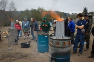 biochar barrel