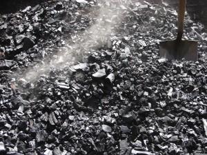 Fresh biochar steaming
