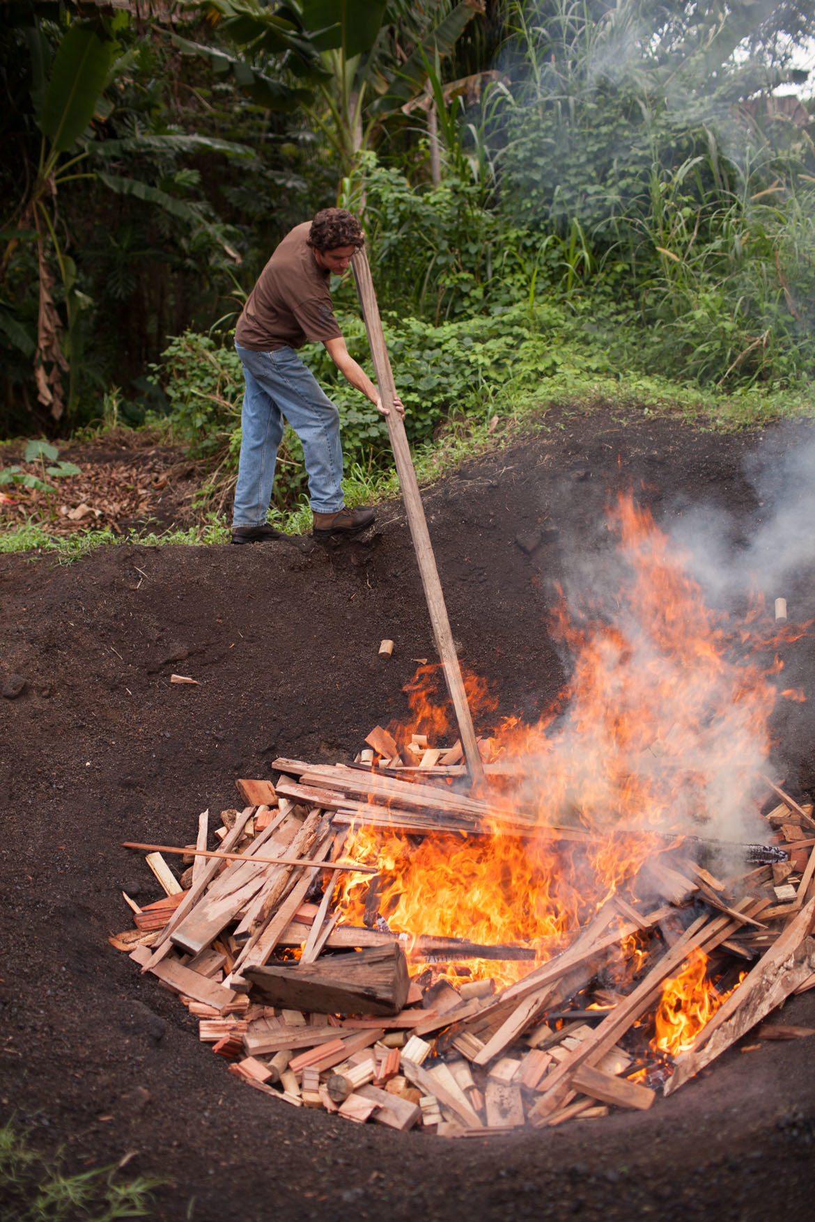 biochar-burn-demonstration