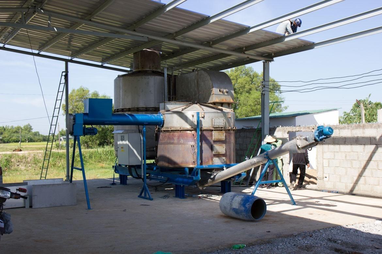 BiGchar 2200 biochar production technology