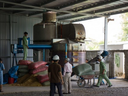 BiGchar 2200 Biochar Production Technology Installed in Vietnam